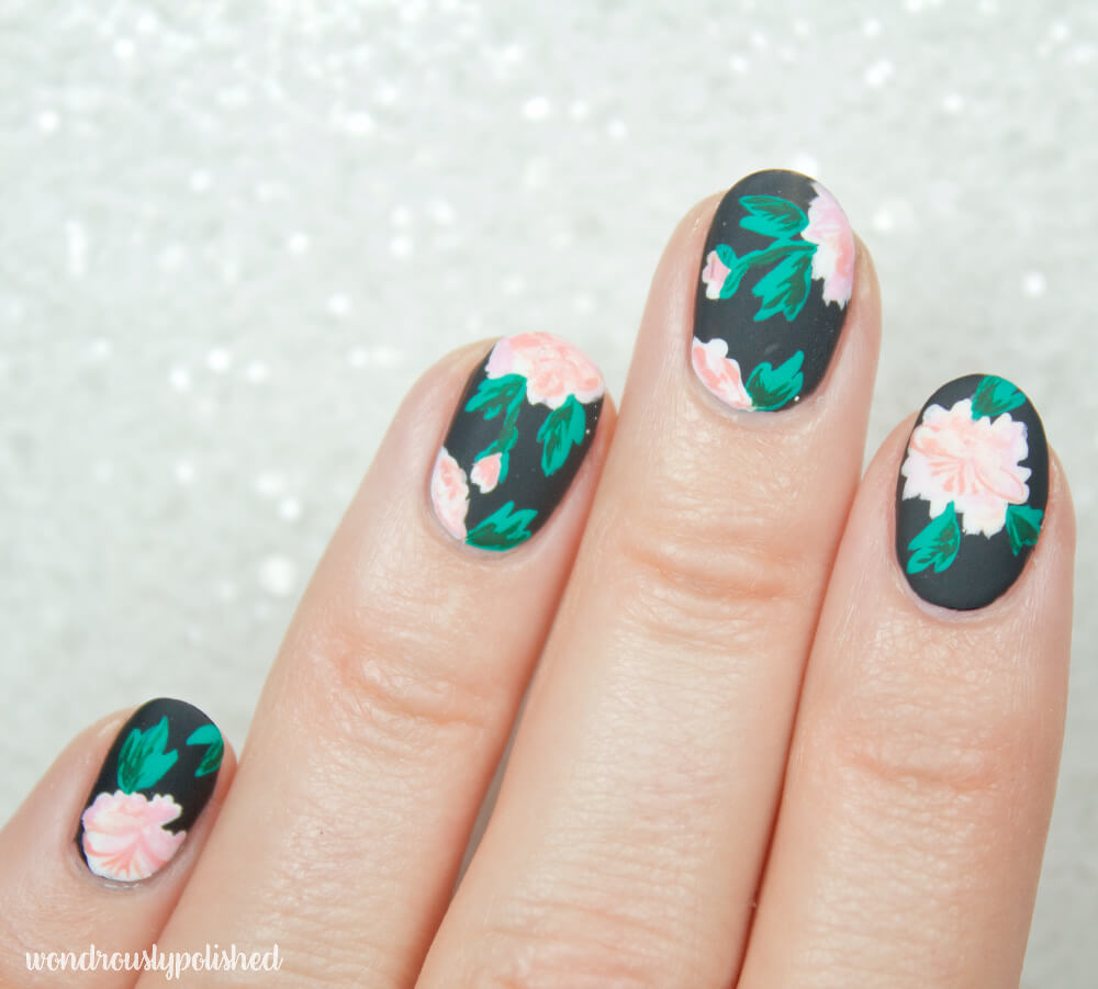 wondrously-polished-erin-condren-life-planner-nail-art-blossom-cactus 7
