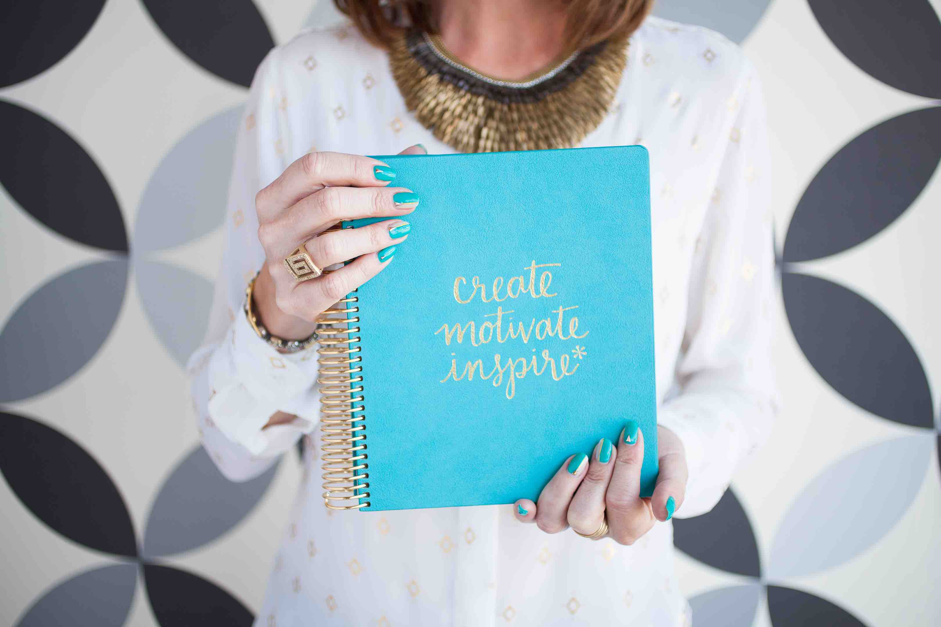 Turquoise Luxe Line LifePlanner™